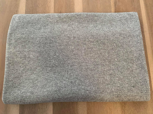 2 Tone Grey - Brushed Jersey Knit - By The Yard