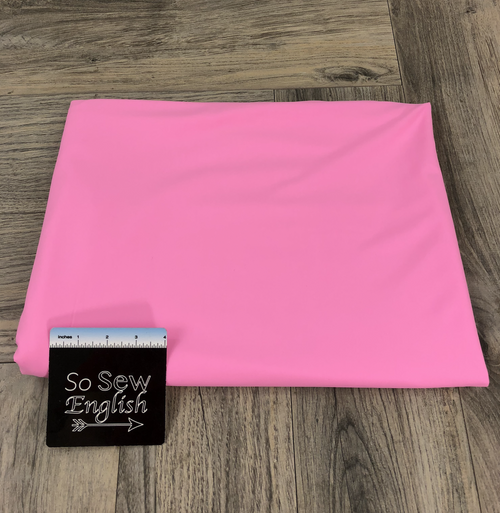 Solid PINK- SWIM -By The Yard