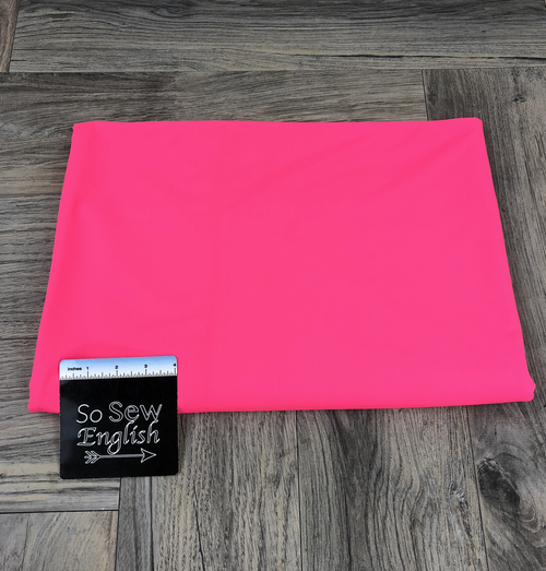 Solid NEON PINK- SWIM -By The Yard