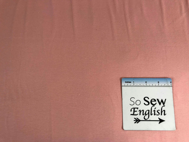 Blush Solid -Art Gallery Cotton Spandex -By The Yard