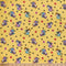 Yellow LOLLIPOP UNICORNS- Double Brushed Poly Spandex -By The Yard