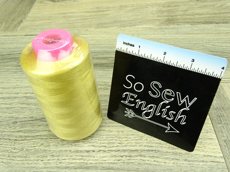 Gold Thread- 6,000 yards - Sold by the Cone (A100)