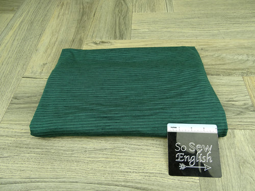 Hunter/Black ANTHONY Stripes - RCPS 180gsm - By The Yard