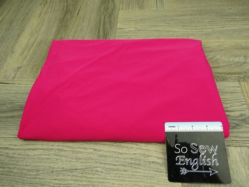 Solid Fuchsia- Yoga Performance -By The Yard