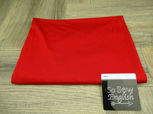 Solid Red -*SPECIAL PURCHASE*- Yoga Performance -By The Yard