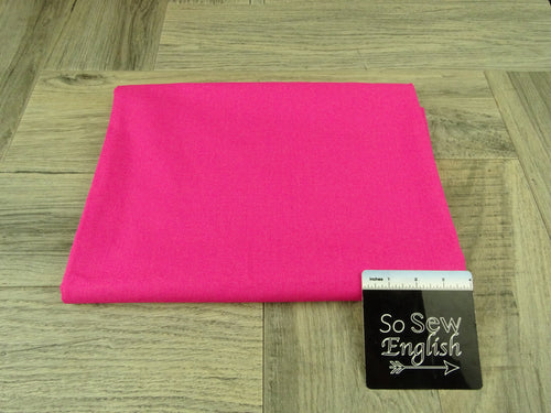 Fuchsia LINEN- WOVEN - By the yard