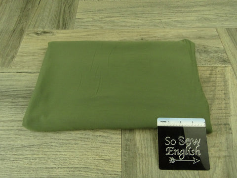 Solid LIGHT OLIVE- Micro Modal Spandex - By the yard