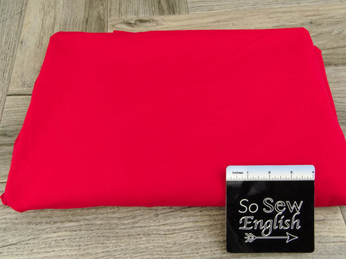 Solid Red 390GSM -Supplex -By The Yard