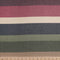 Purple WIDE STRIPE - French Terry- By the yard
