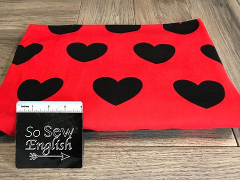 RED PLAID - SUPER PLUSH - By the yard