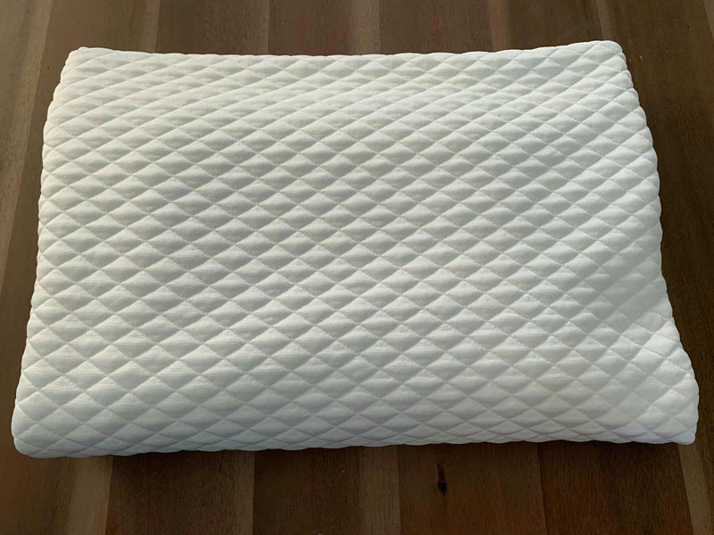 Diamond Ivory - Quilted Knit - By the yard