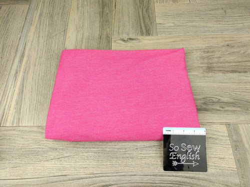 PINK- Knit Denim -By the yard