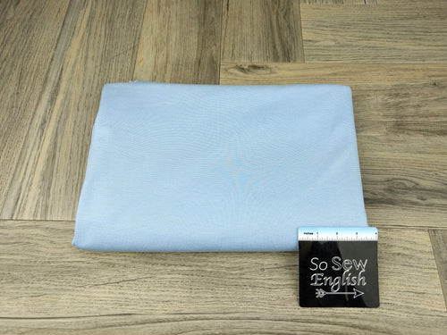 Solid Baby Blue -PONTE Knit - By The Yard