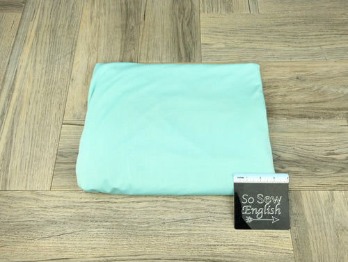 Solid Mint- Poly Crepe Jersey -By the yard