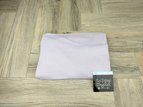 Solid Light Lilac- Poly Crepe Jersey -By the yard