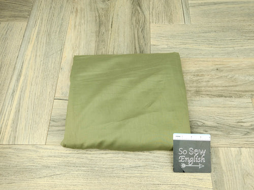 Light Olive- Cotton Voile WOVEN - By the yard