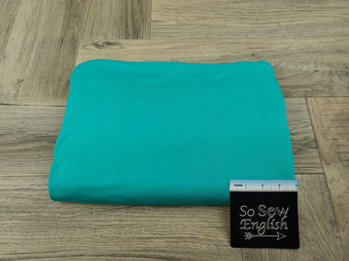 Solid JADE - Rayon Spandex  Knit - By the yard