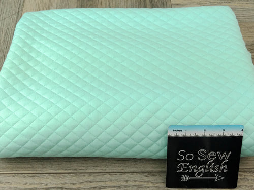 CLEARWATER QUILTED-Quilted Knit 260GSM - By the yard