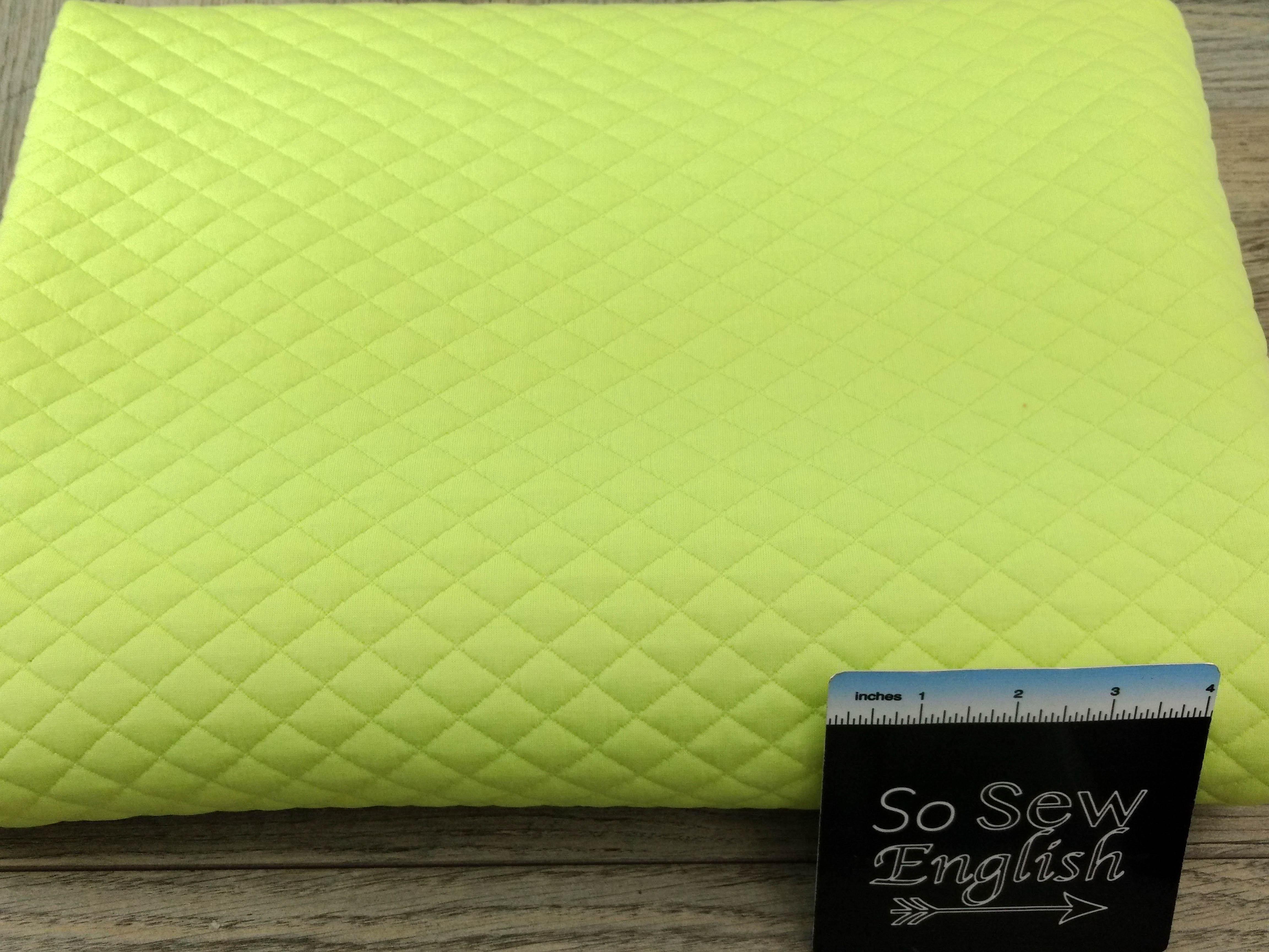 LIMELIGHT QUILTED-Quilted Knit 260GSM - By the yard