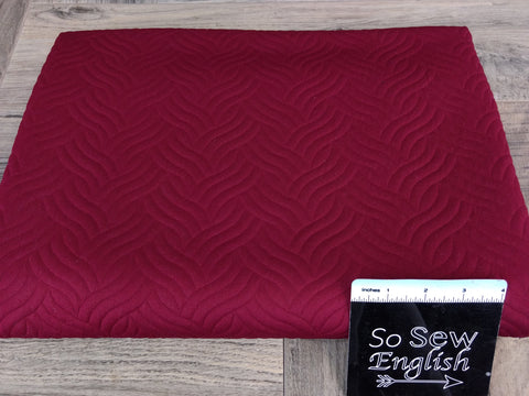 Olive/Burgundy AZTEC -Melange Hacci - By The Yard