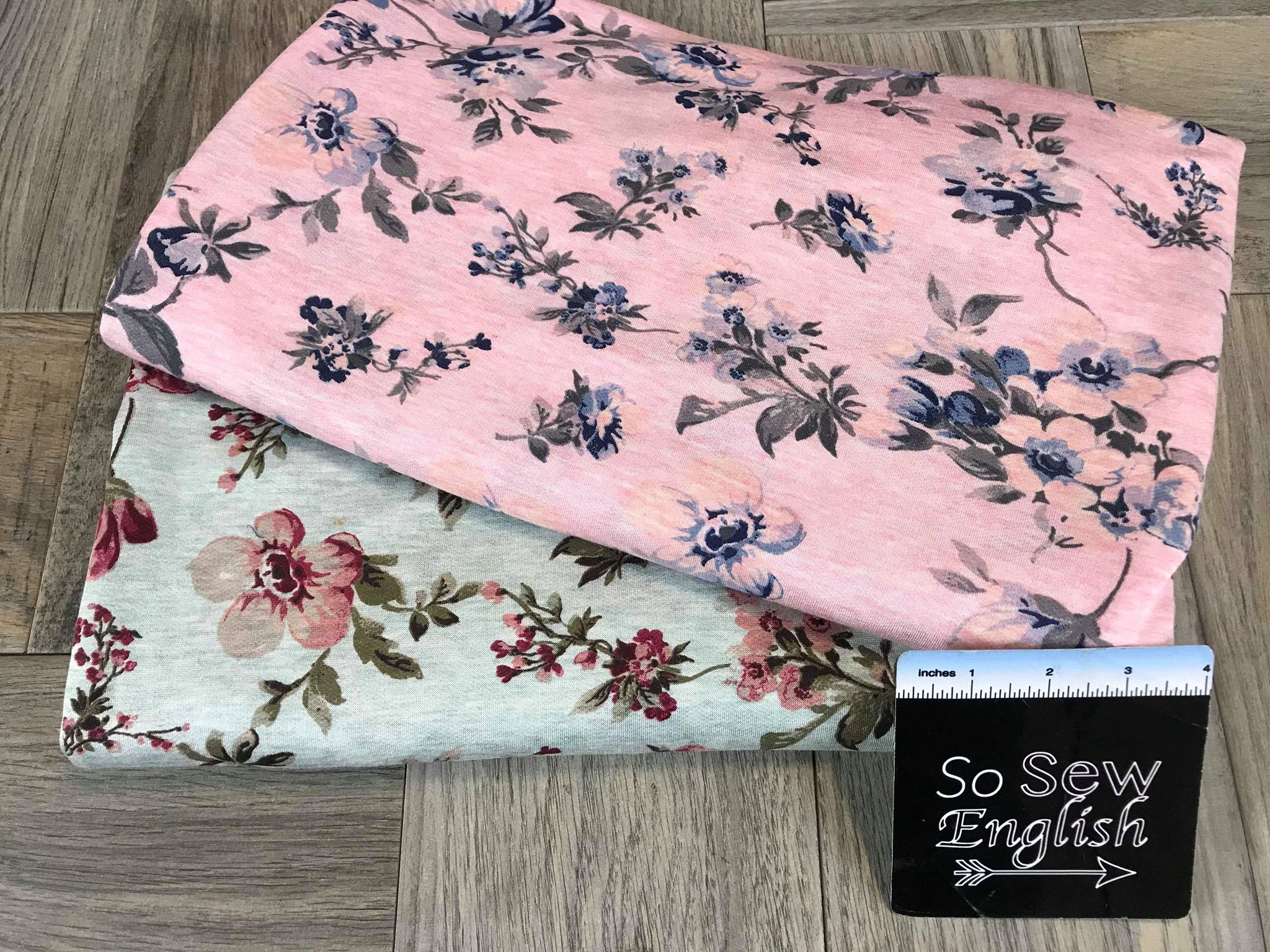 Sage EMMY - Baby French Terry- By the yard
