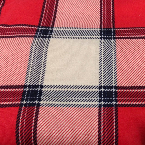 Red ALLISTER Plaid - Hacci - By The Yard