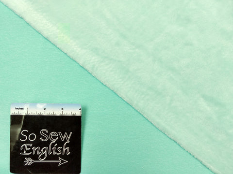 Teal FABIO Tie Dye - Single Brushed Poly Spandex -By The Yard