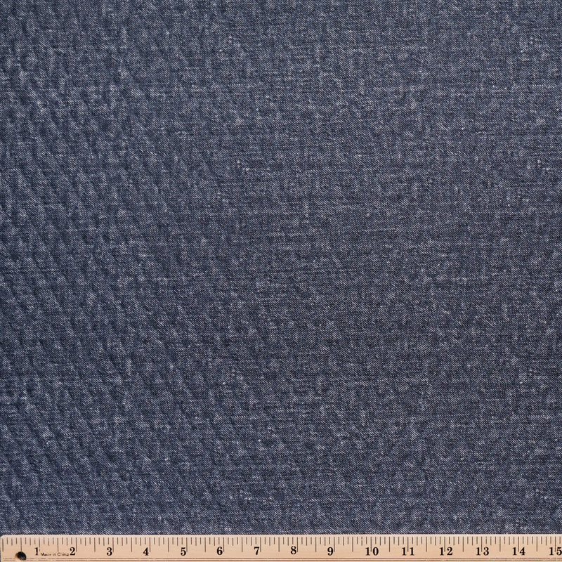 Denim LARGE -Quilted Knit - By the yard