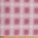 Pink Ombre - Waffle Knit - By the yard
