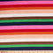 Rainbow Stripe - Ribbed Polyester Spandex - By The Yard
