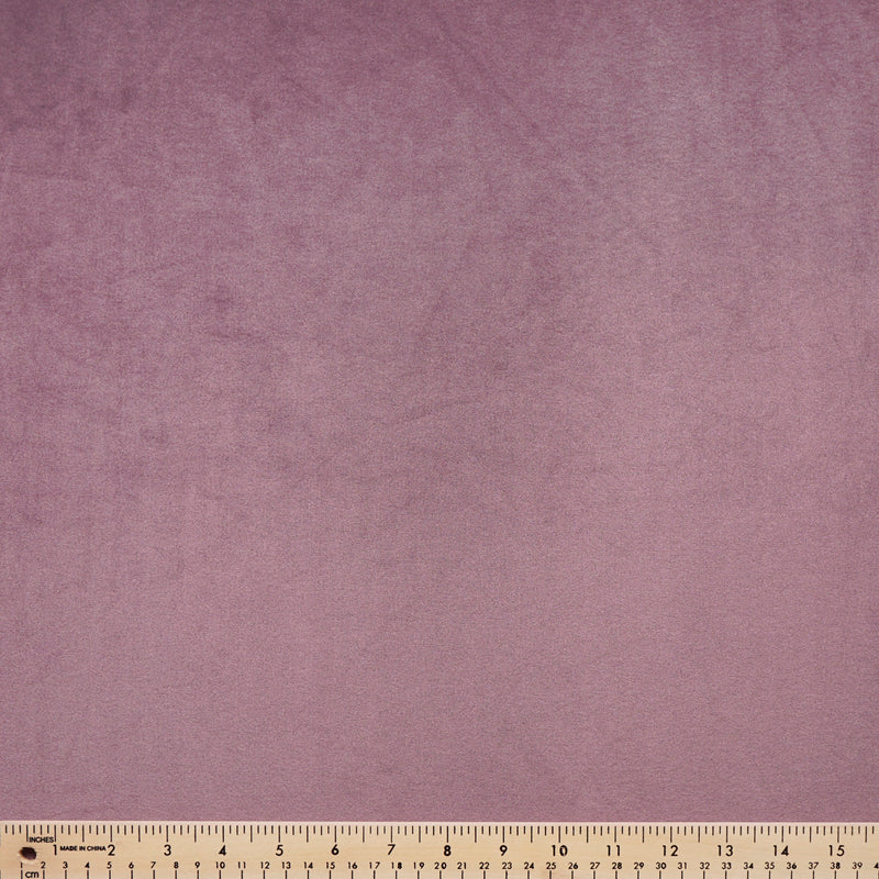 Solid Dusty Purple- VELVET PLUSH - By the yard
