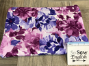 Purple LOUISE -Modal Spandex - By the yard