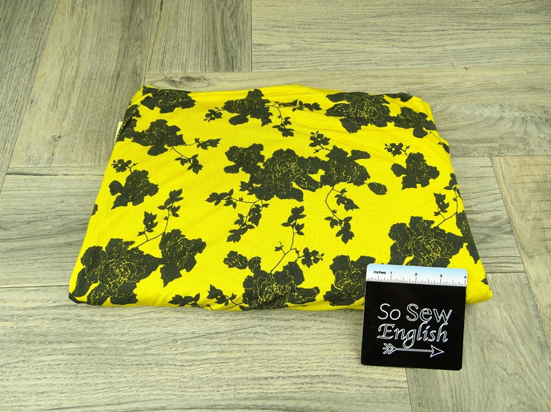 READY CUT: 2YD Yellow Colleen Bamboo :RC304