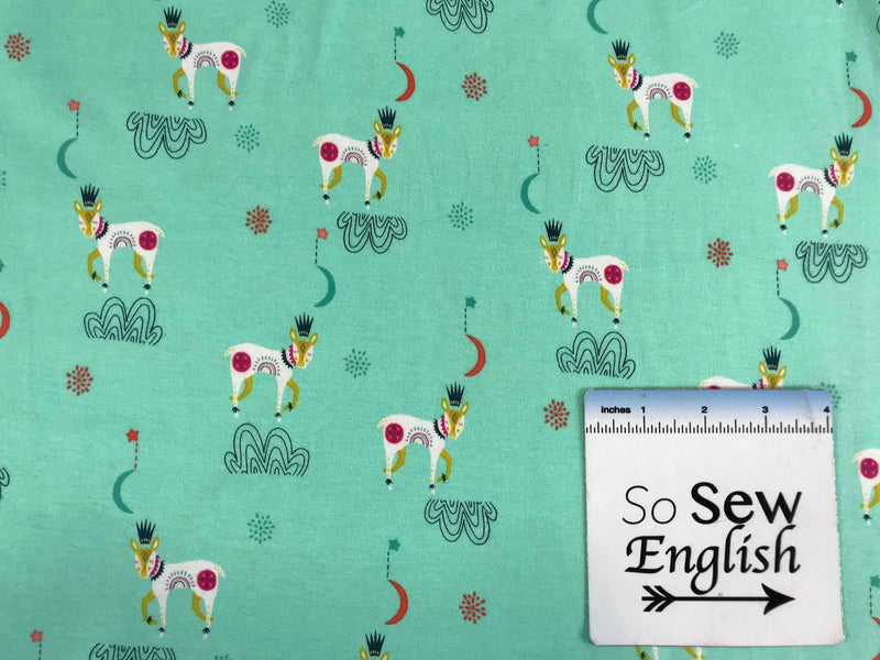 Sleep Tight Reverie -Art Gallery Cotton Spandex -By The Yard