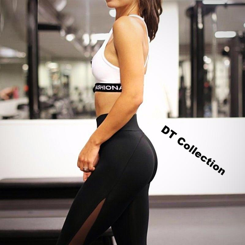 Women's Leggings Black Transparent Sexy Slim Fit