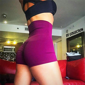 Women's Fitness Shorts High Elastic Waist