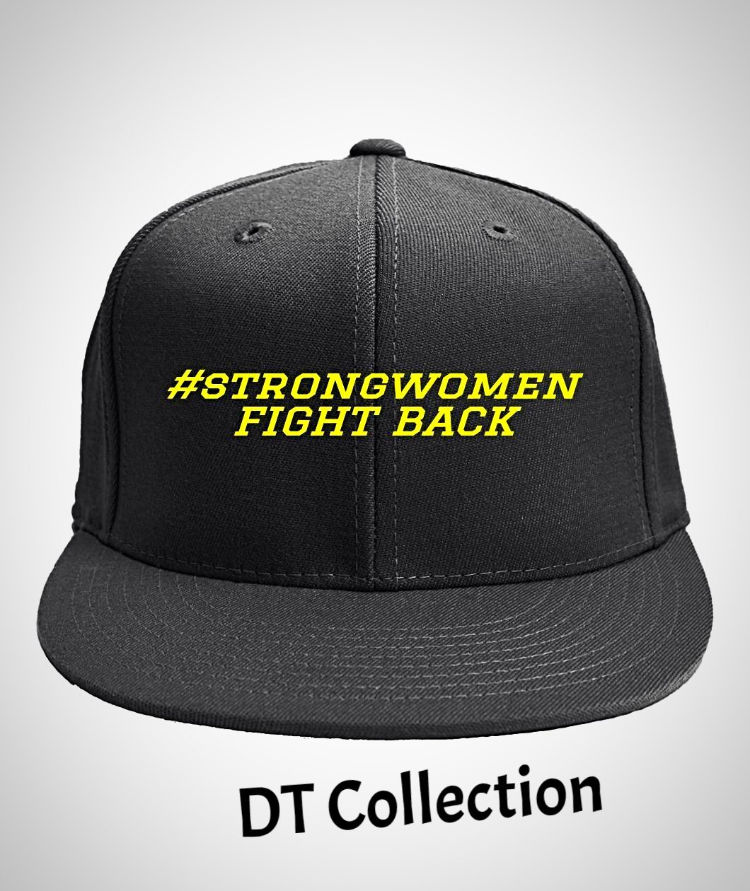 #strongwomen FIGHT BACK 6-Panel Classic Snapback