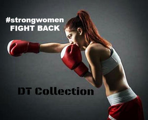 #strongwomen FIGHT BACK Wall Punch Pad Target Training