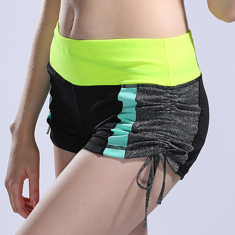 Women's Sexy Fitness Shorts Side Drawstring