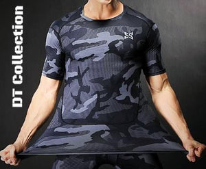 Men's Bodybuilding Camo T-shirt