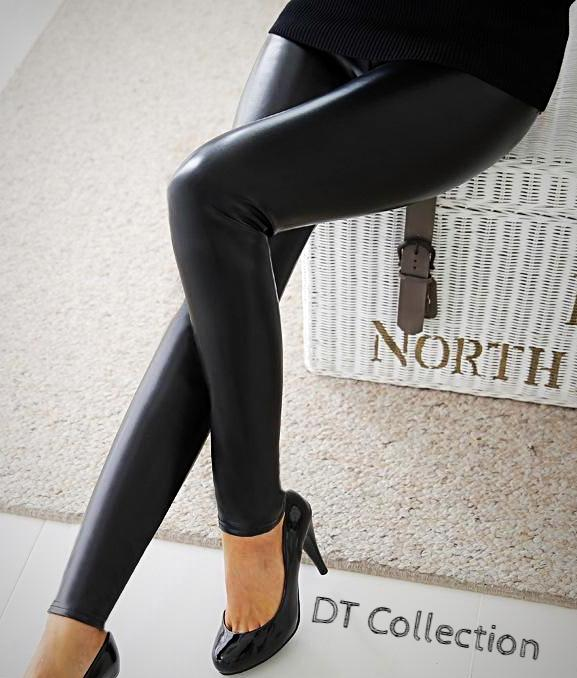 High Waist Leggings Sexy Black
