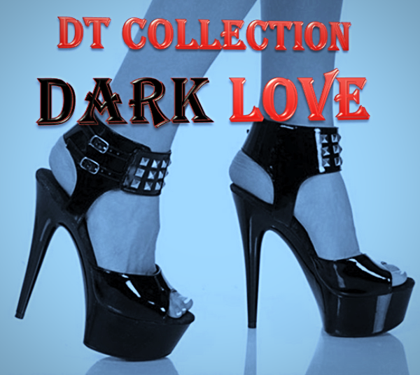 DT Collection DARK LOVE Sexy High Heel Shoes