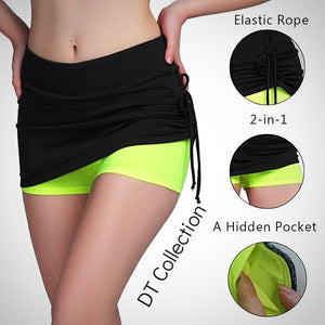 Fitness Skirt Shorts