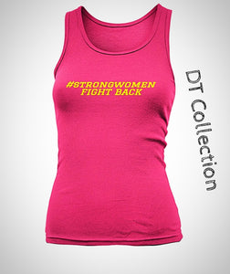 #strongwomen FIGHT BACK Women's Tank Top