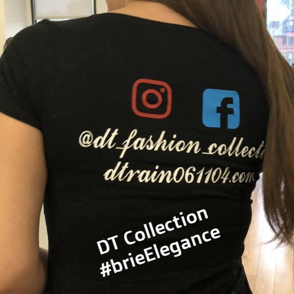 #brieElegance T-Shirt Man Behind the Music | DT Collection
