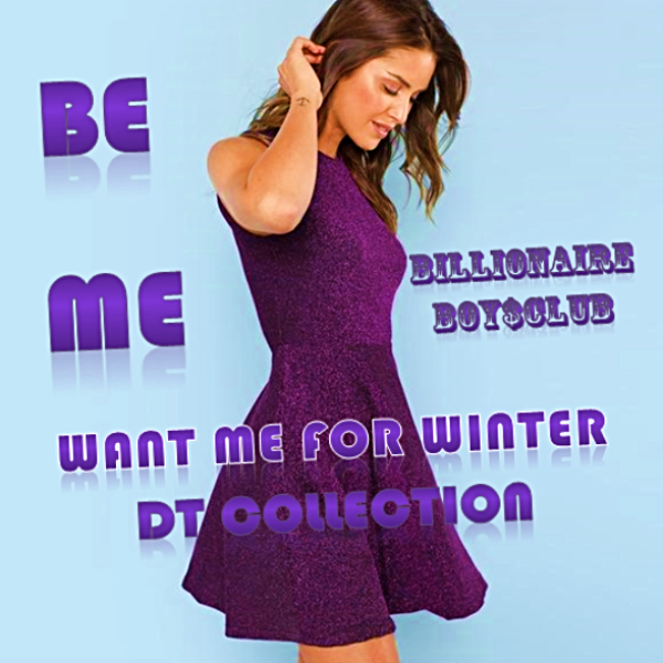 #BEME Winter Purple Mini Dress B$C | DT Collection