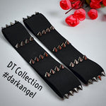 DARK LOVE Gothic Stud Elastic Garters #darkangel | DT Collection