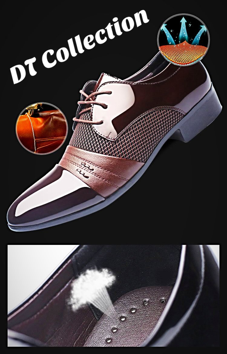 Men's Dress Shoes Breathable