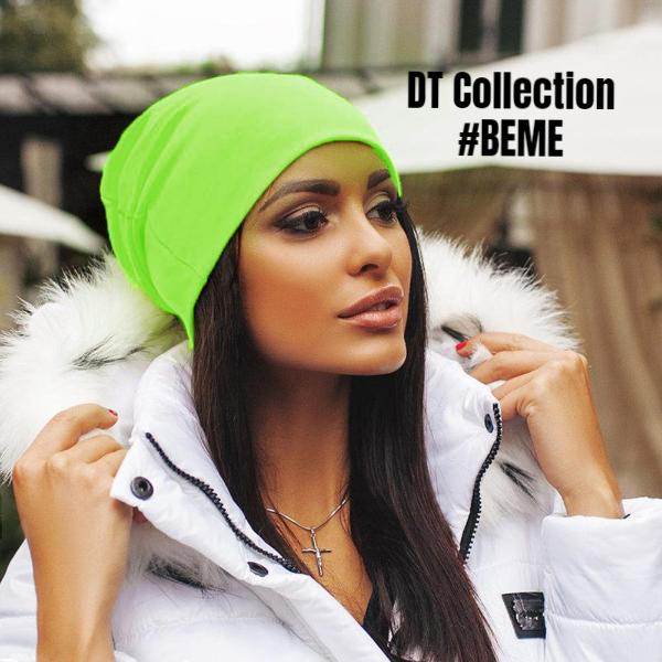 #BEME Unisex Knitted Beanie PARIS | DT Collection