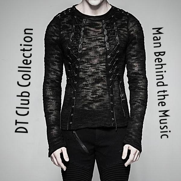DT Collection Men's T-Shirt Laced-Up Rock Club Wear. Every detail considered when we made this one. Handmade to fit perfectly. Rock this one guys!